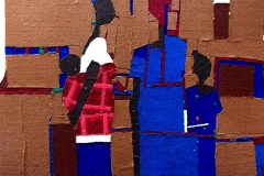 Olufemi-Oyewole-FAMILY-PORTRAIT-2-2019-carpet-on-wood-panel-48inches-by-60inches