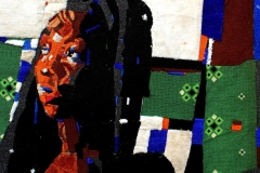 Olufemi-Oyewole-THE-AWAITING-COUPLE-2-2020-carpet-on-canvas-40inches-by-40inches